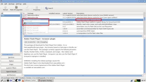 Flash Player & Knoppix | Nelandir's Independent Trading Co